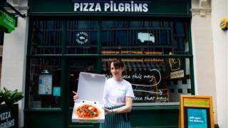 Pizza Pilgrims restaurant in Belgravia