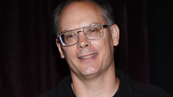 Tim Sweeney is awarded during the BAFTA Presents Special Award to Epic Games in June 2019. He tells NPR he is suing Apple and Google in a bid to attack practices he claims are monopolistic and exploitative.