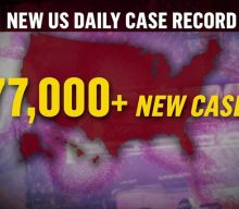 For second straight day, U.S. Covid cases reach new high