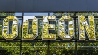 Odeon sign