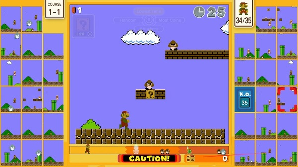 Super Mario Bros. 35 once again brings to mind the influence of Nintendo