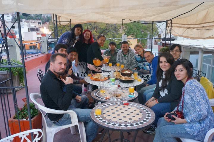 hostel travel mexico free accommodation