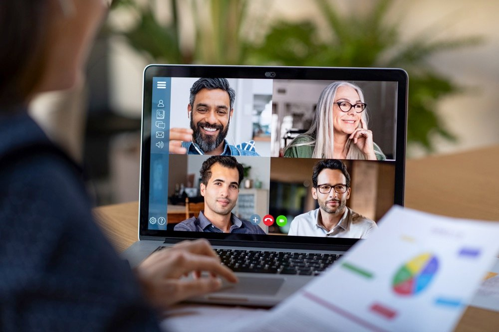 be prepared for an online interview when working remotely