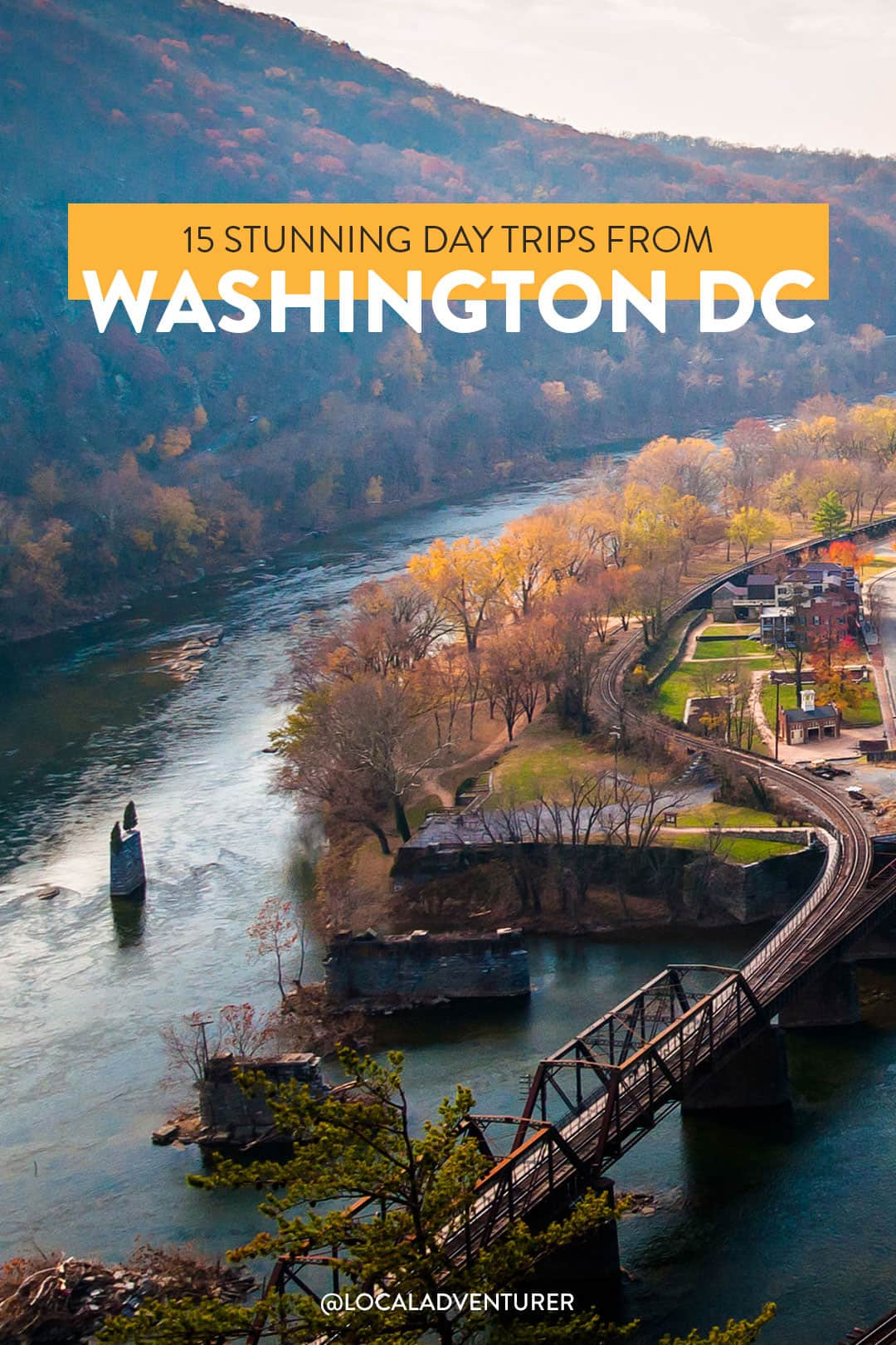15 Stunning Day Trips from Washington DC