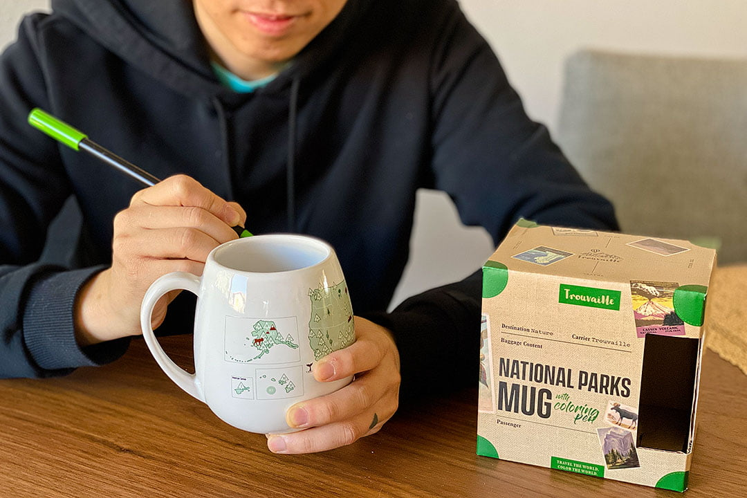 National Parks Mug + 25 Best Gifts for Adventurers