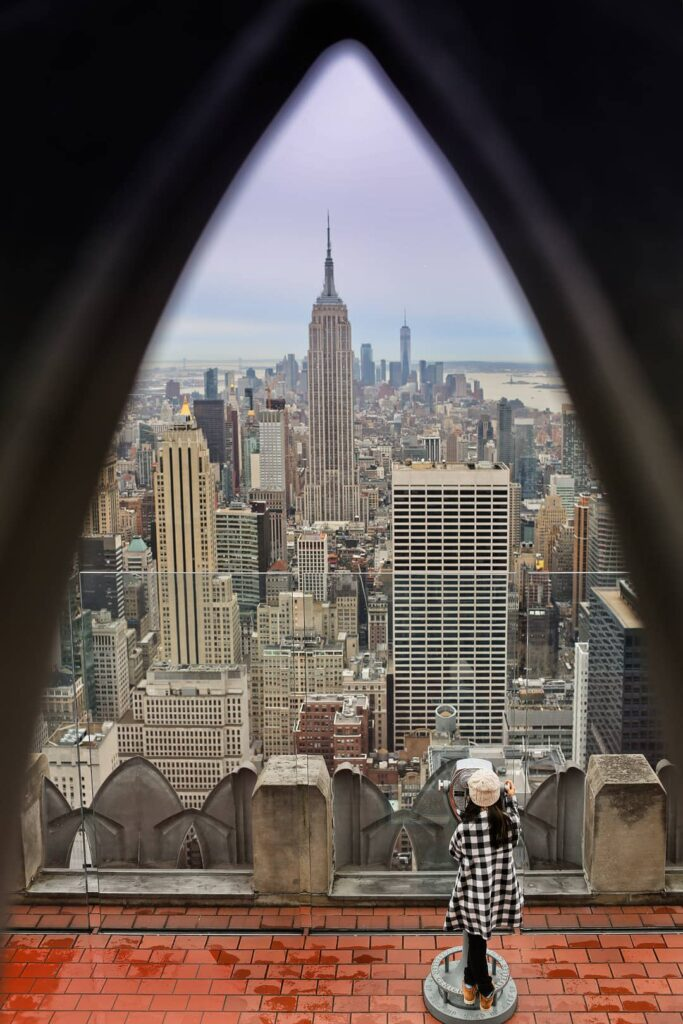 Rockefeller Center Observation Deck NYC + 25 Most Instagrammable Places in NYC