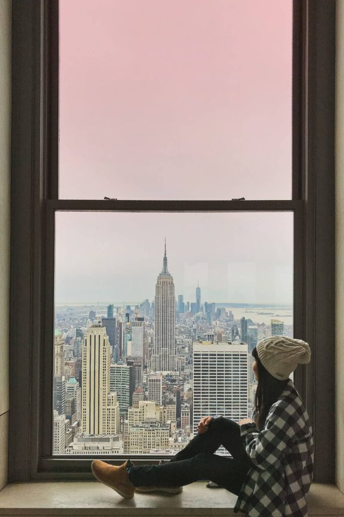 Top of the Rock Observation Deck NYC + 25 Most Instagrammable Places in NYC