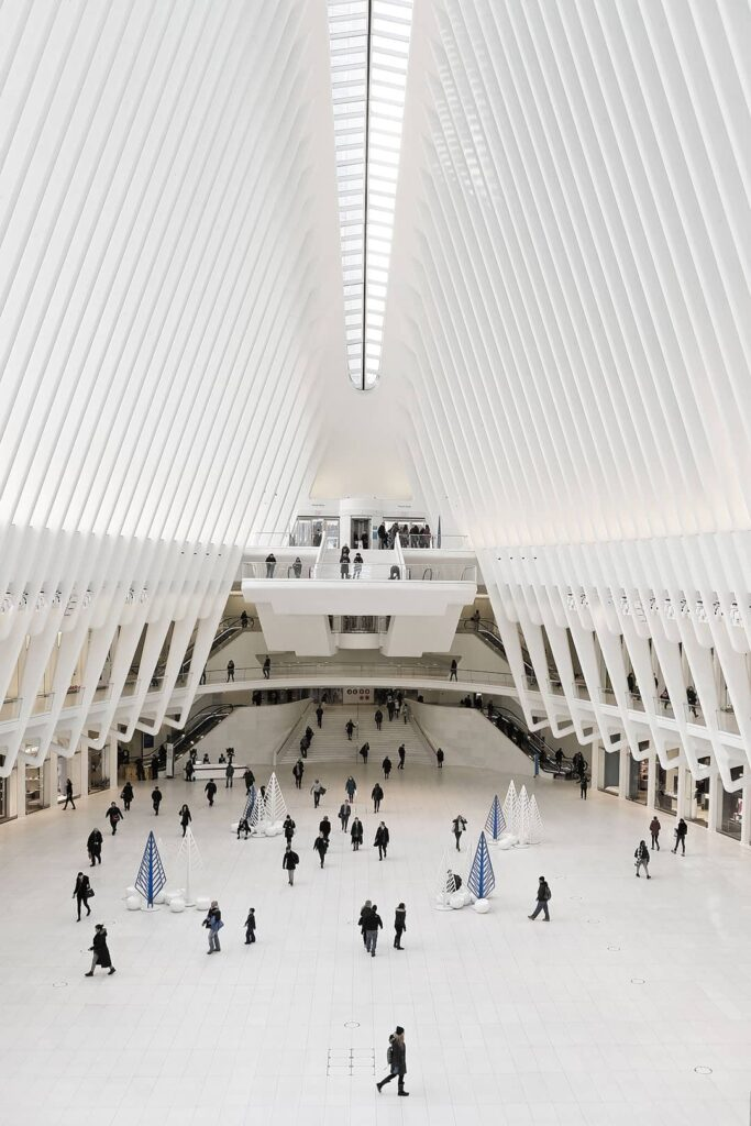 The Oculus, World Trade Center's Transportation Hub, New York City + 25 Most Instagrammable Spots in NYC