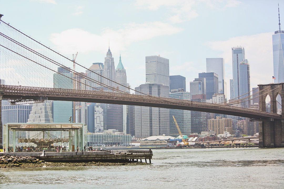 Janes Carousel Brooklyn + 25 Best Instagram Spots in NYC