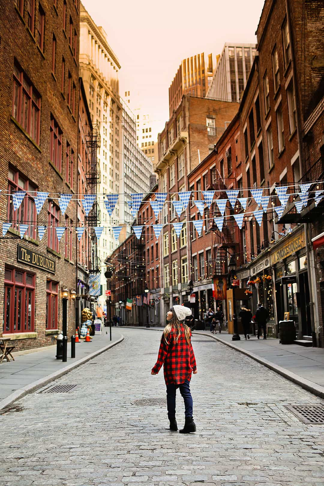 Stone Street + 25 Most Instagrammable Places in New York City