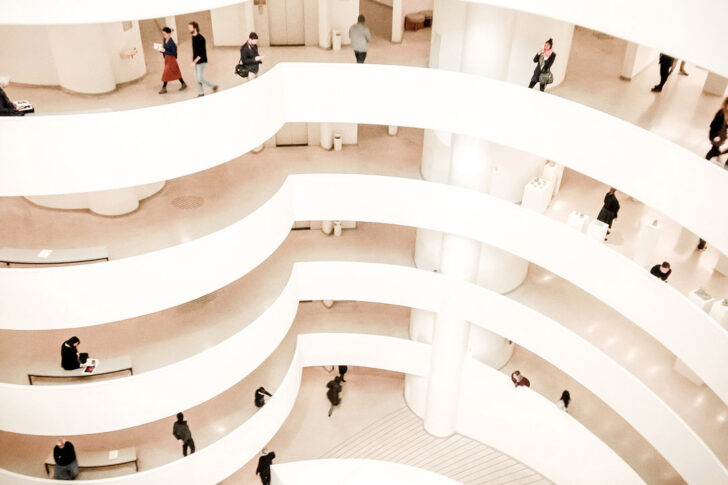 The Guggenheim Museum New York + 25 Places to Take Pictures of New York City // Local Adventurer #nyc #newyork #ny #newyorkcity #manhattan #usa #travel #instagram #photography #guggenheim