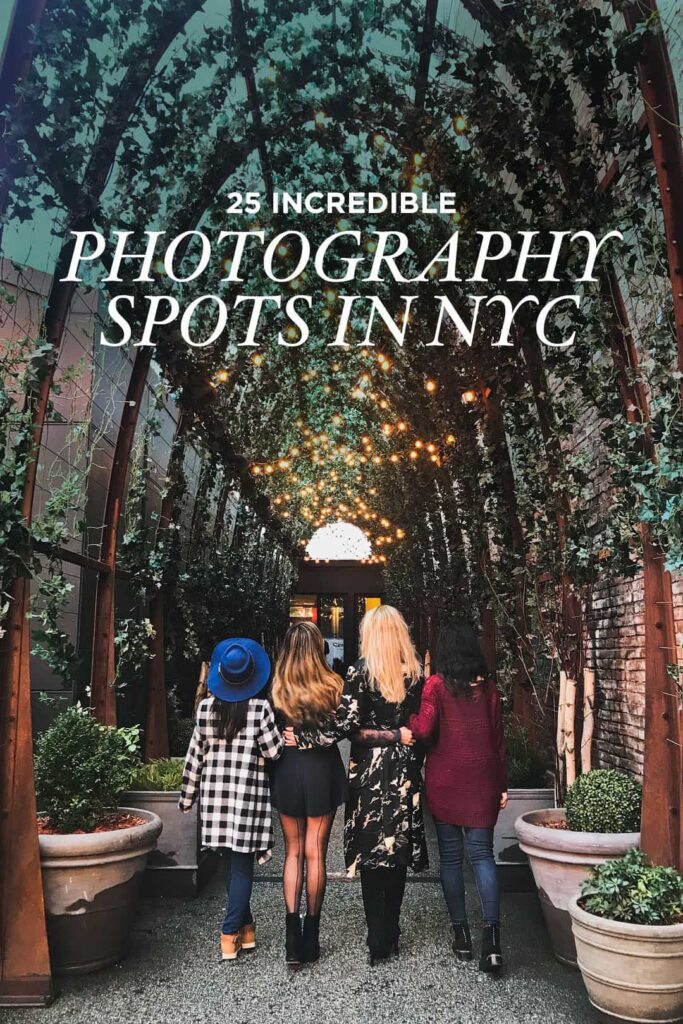 25 Incredible Photography Spots in NYC to Check Out on Your Next Visit
