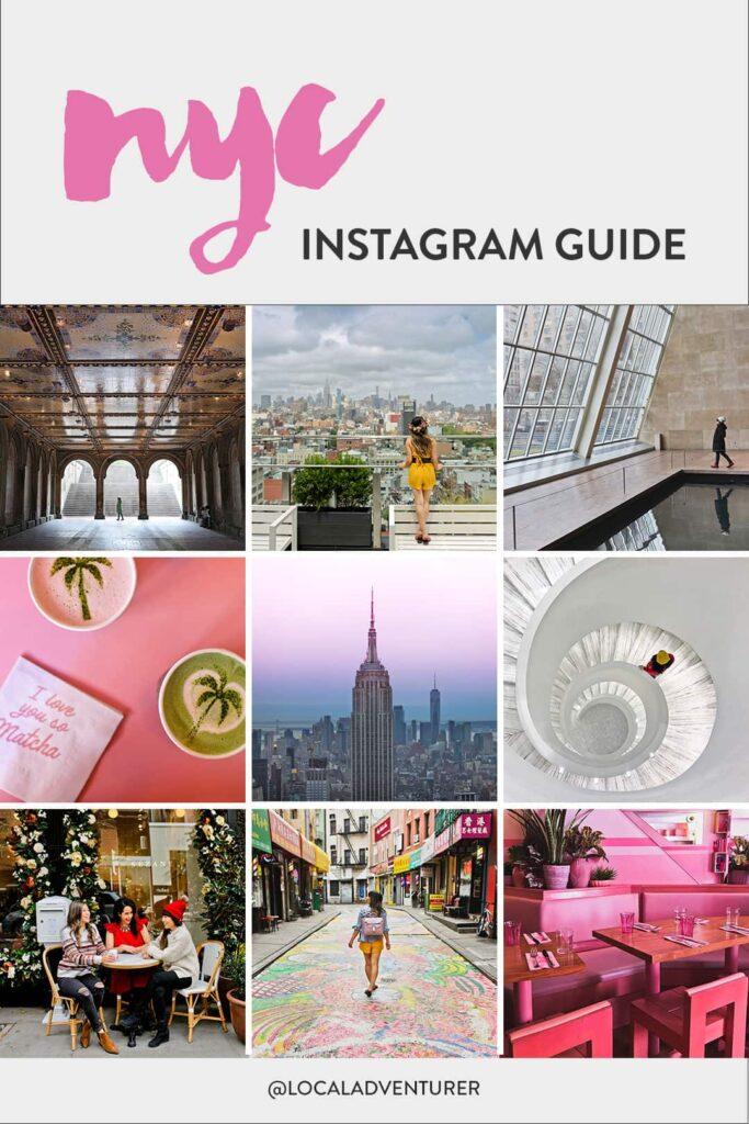 25 Most Popular Instagram Spots in NYC