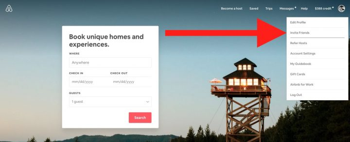 Airbnb Code Refer a Friend And Get Airbnb Credit