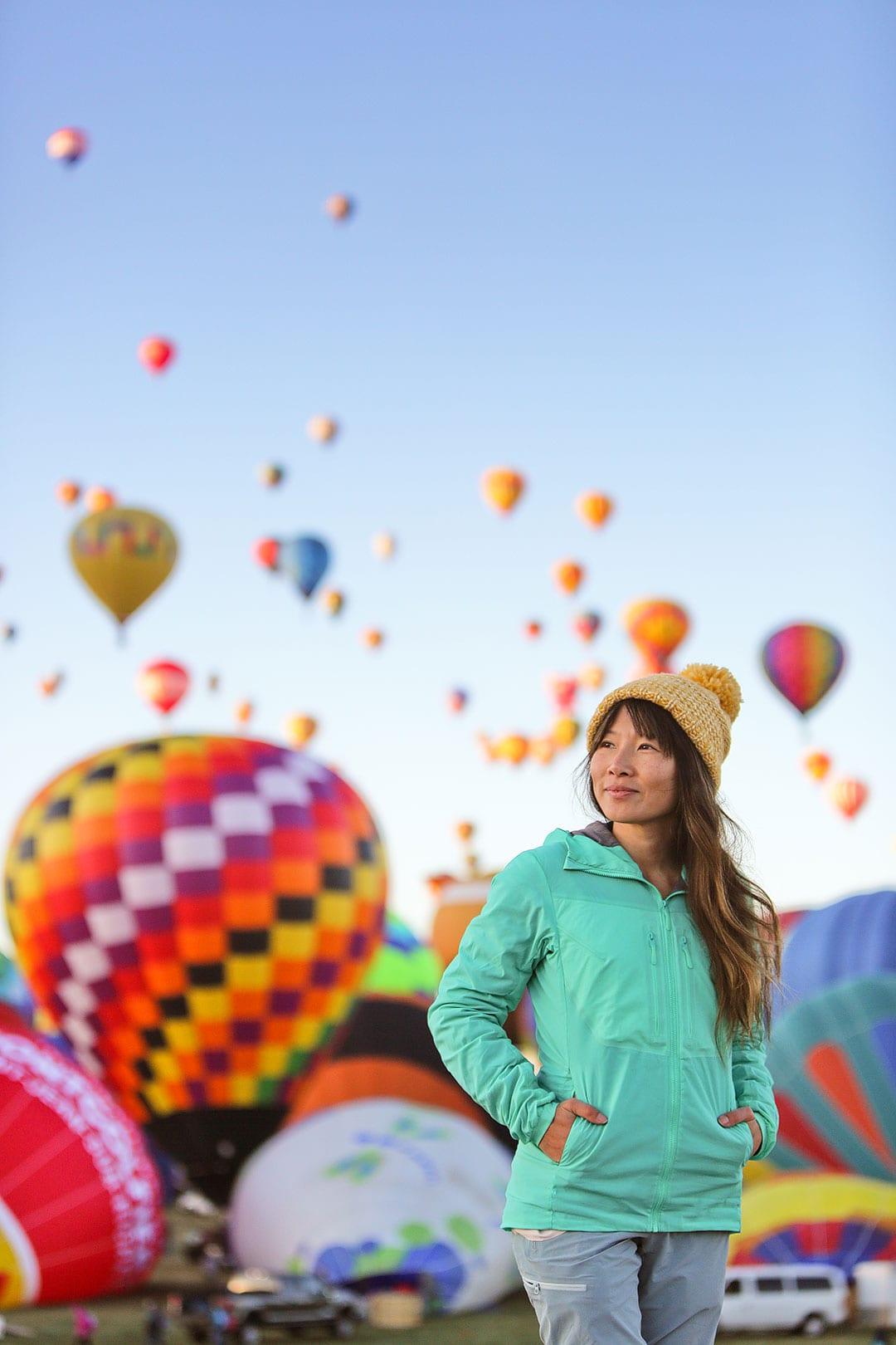 Albuquerque Balloon Fiesta Mass Ascension