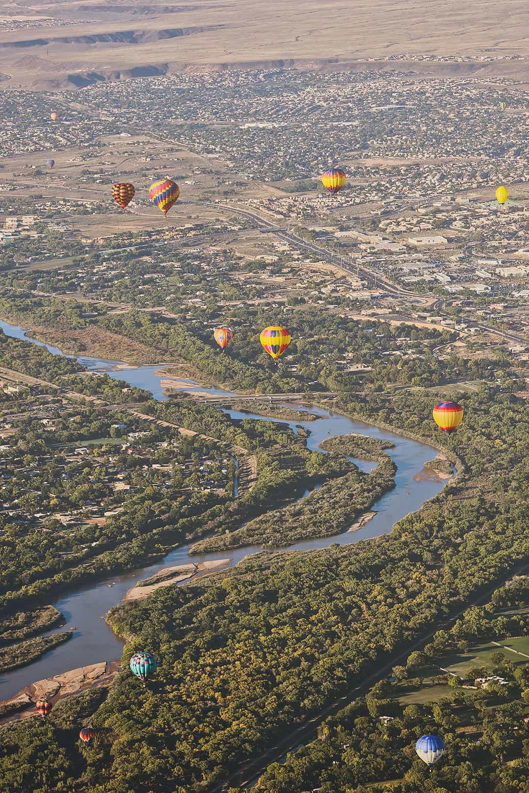International Hot Air Balloon Festival New Mexico