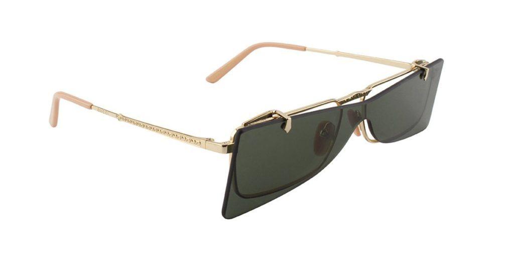 Gucci flip sunglasses