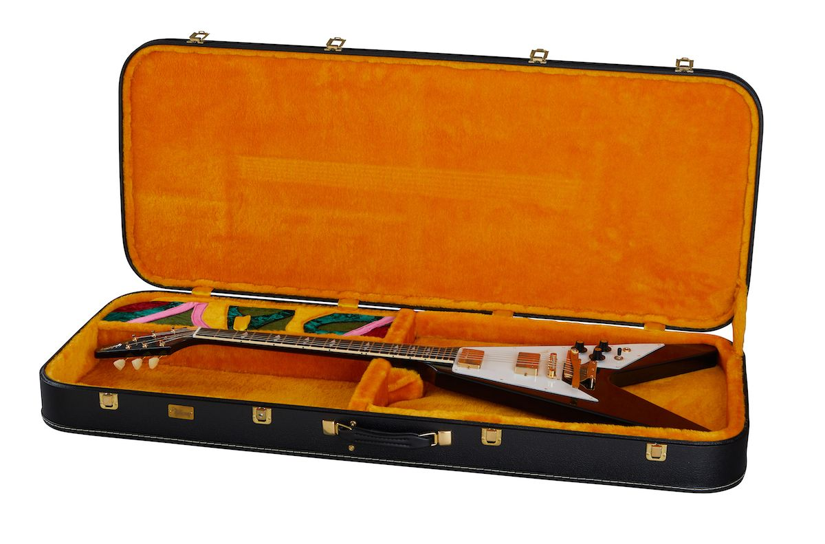 Hendrix Flying V Case_Open RH