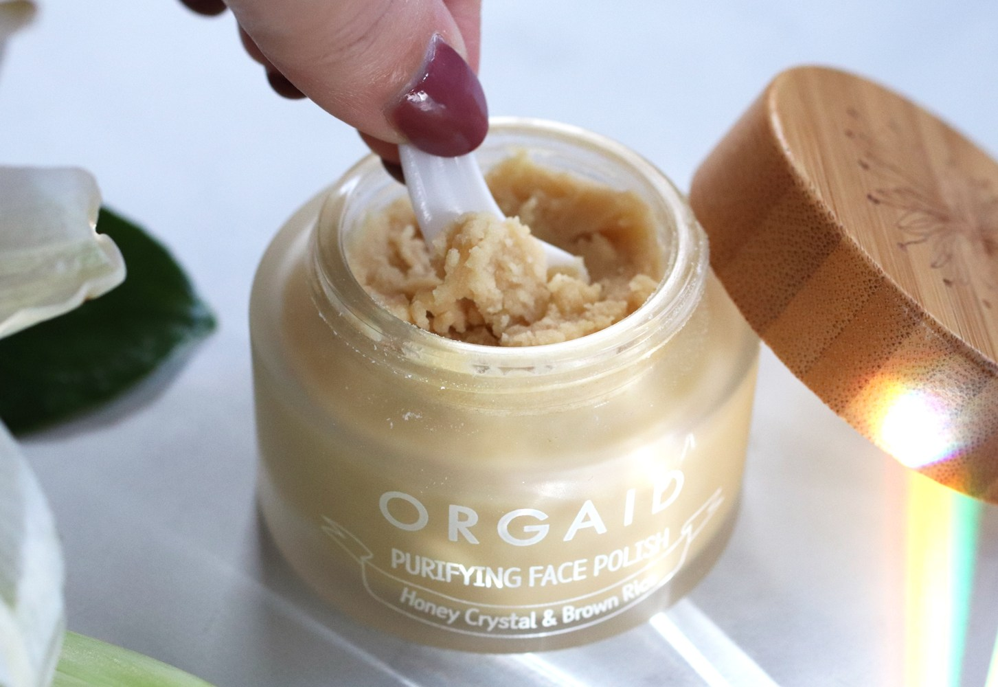 Cruelty free beauty from Cynaglow - ORGAID Purifying Face Polish review