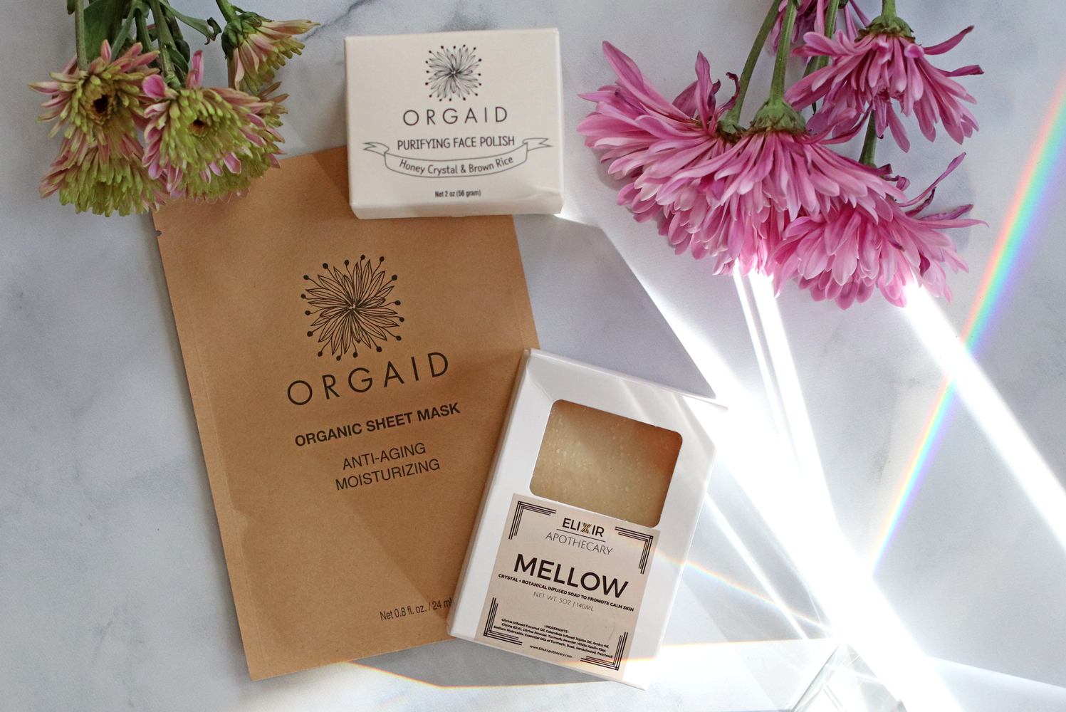 Cynaglow cruelty free and organic skincare haul