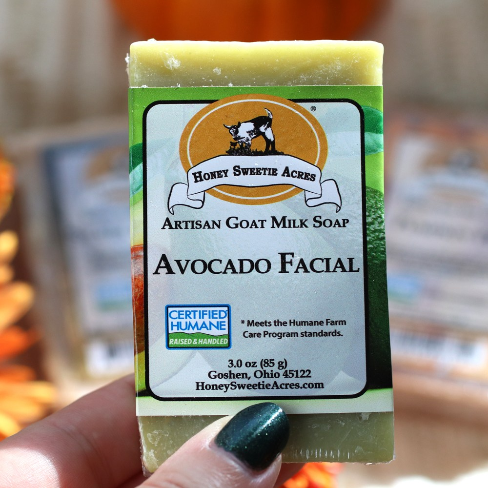 Honey Sweetie Acres Goat Milk Avocado Facial Soap review