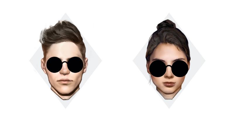 best sunglasses for diamond face shape