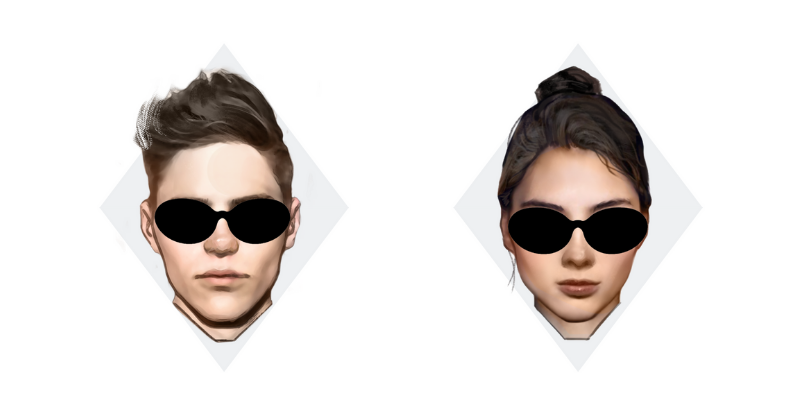 how to pick sunglasses for your face shape