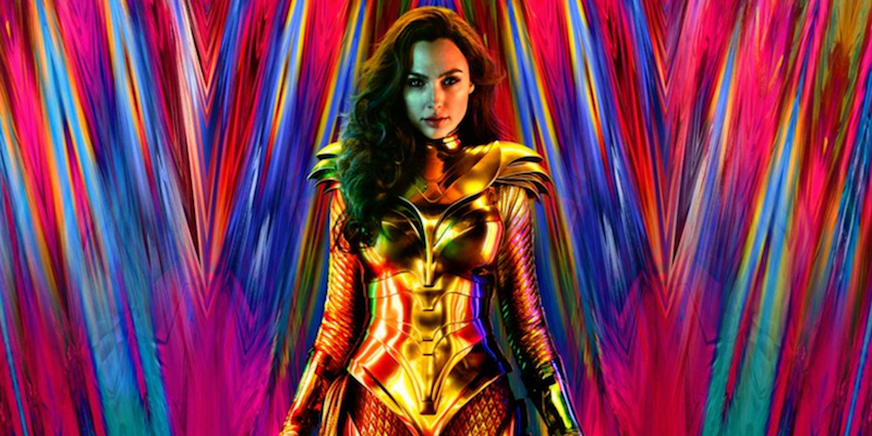 Wonder Woman 1984 (Warner Bros.) DC Films Golden Eagle Armor Patty Jenkins Gal Gadot Poster