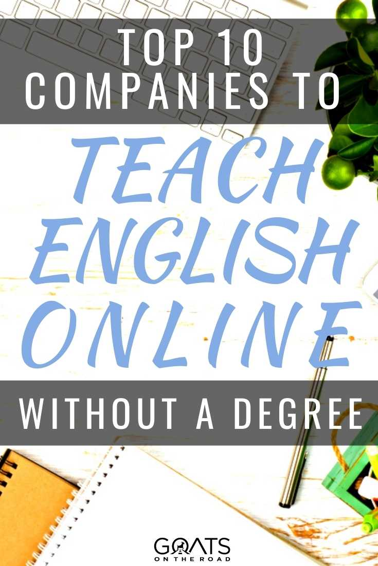 Top 10 Companies To Teach English Online Without A Degree