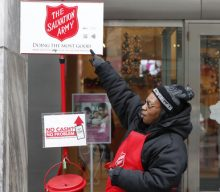 With Less Money In Its Red Kettles, The Salvation Army Rallies To Save The Holidays