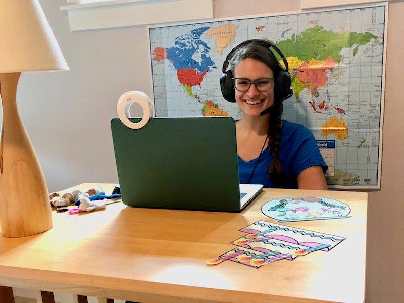 Nicola Teaching English online