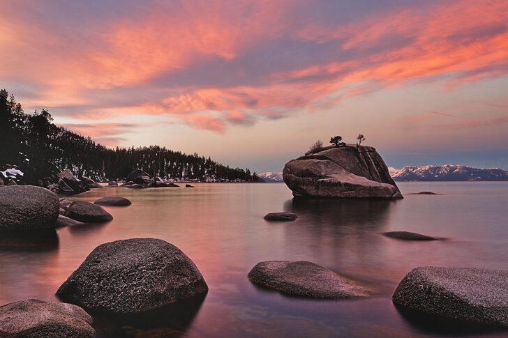 Bonsai Rock Lake Tahoe + 101 Things to See in Nevada