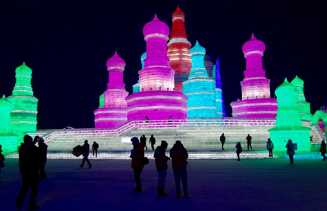 best places to visit in january harbin china