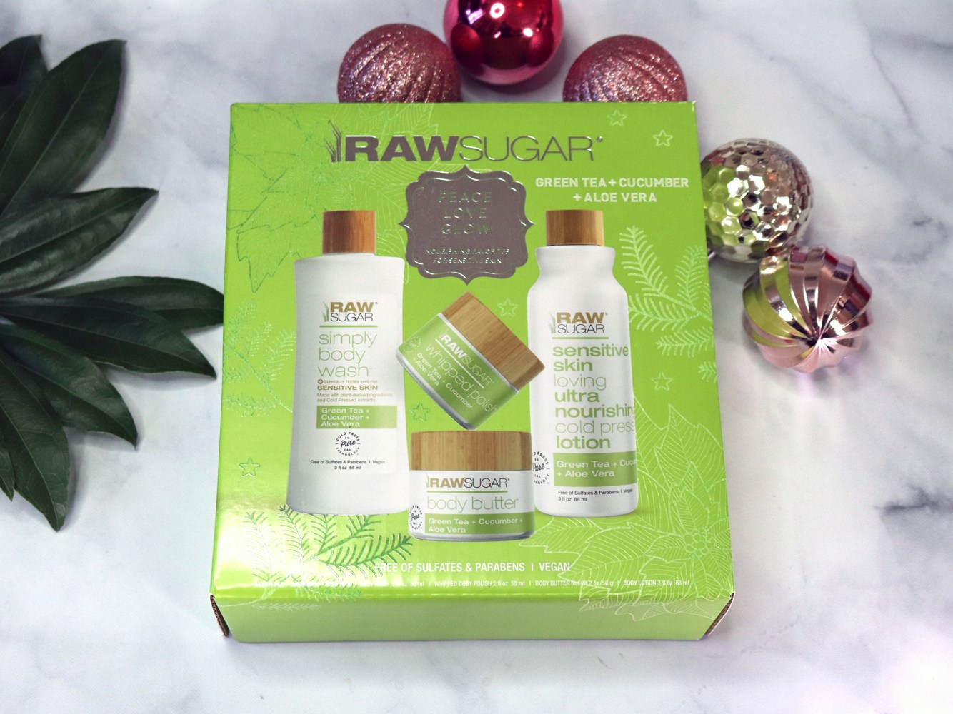 Cruelty Free Holiday Gift Guide 2020 - Raw Sugar gift set