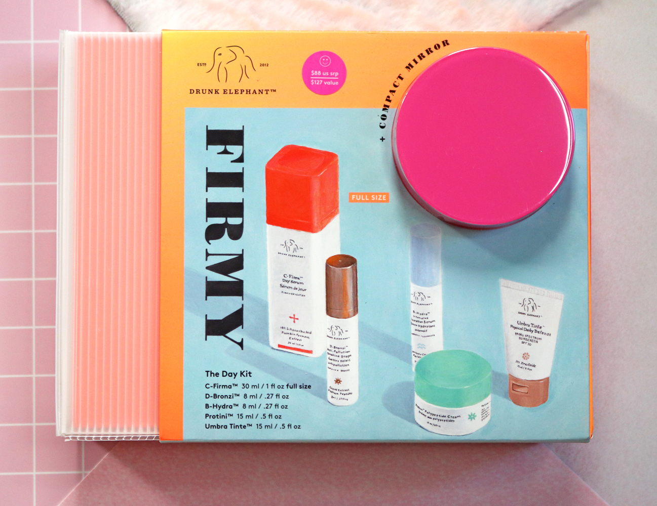 Drunk Elephant Firmy the Day Kit - Holiday Gift Set 2020