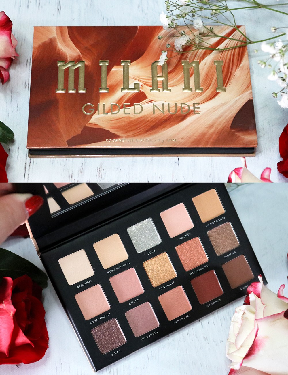 Cruelty Free Holiday Gift Guide 2020 - Milani Gilded Nude Palette
