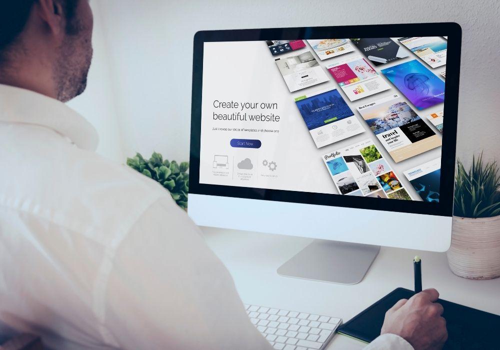 make a freelance website