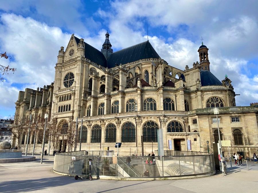 gothic church paris
