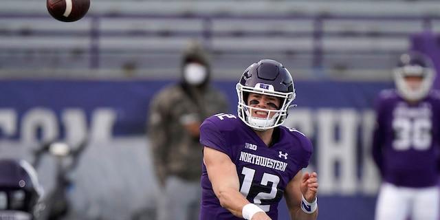 Northwestern quarterback Peyton Ramsey.
