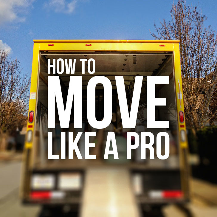 How to Move Like a Pro - Moving To Do List + Packing Tips for Moving // Local Adventurer