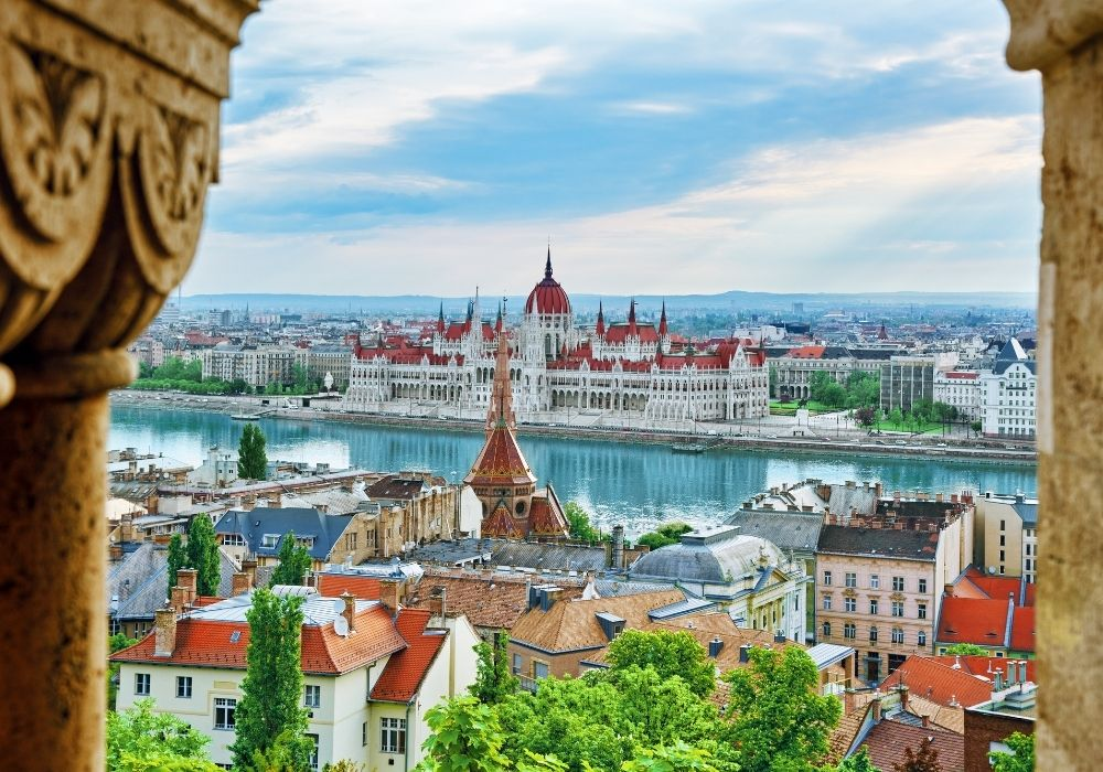 The pretty city of Budapest is a top choice for digital nomads