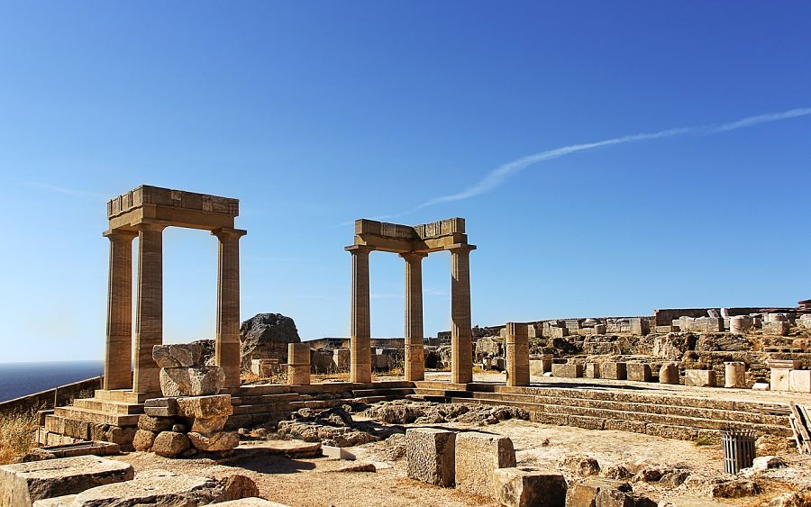 Places to visit in Greece-Olympia-ruins