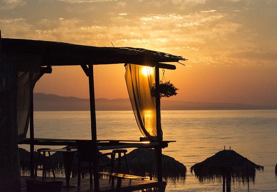 Places to visit in Greece-Halkidiki-sunset-mediterranean