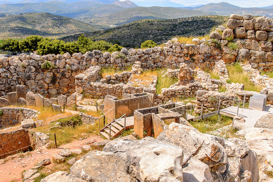 Mycenae places to visit in greece