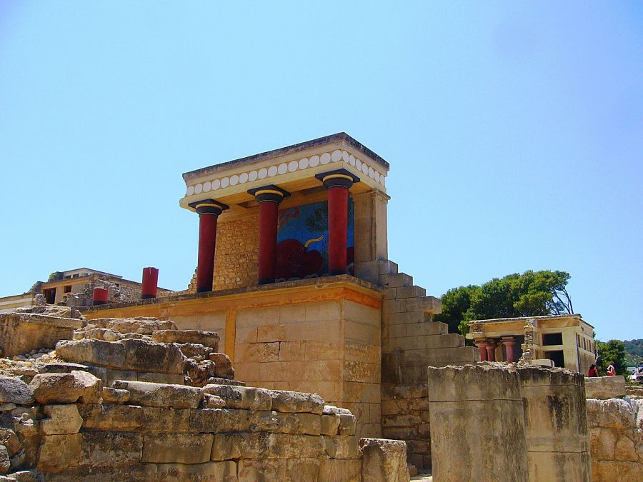 Places to visit in Greece-Knossos-crete