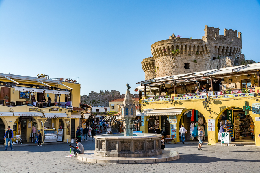 Places to visit in Greece-Rhodes