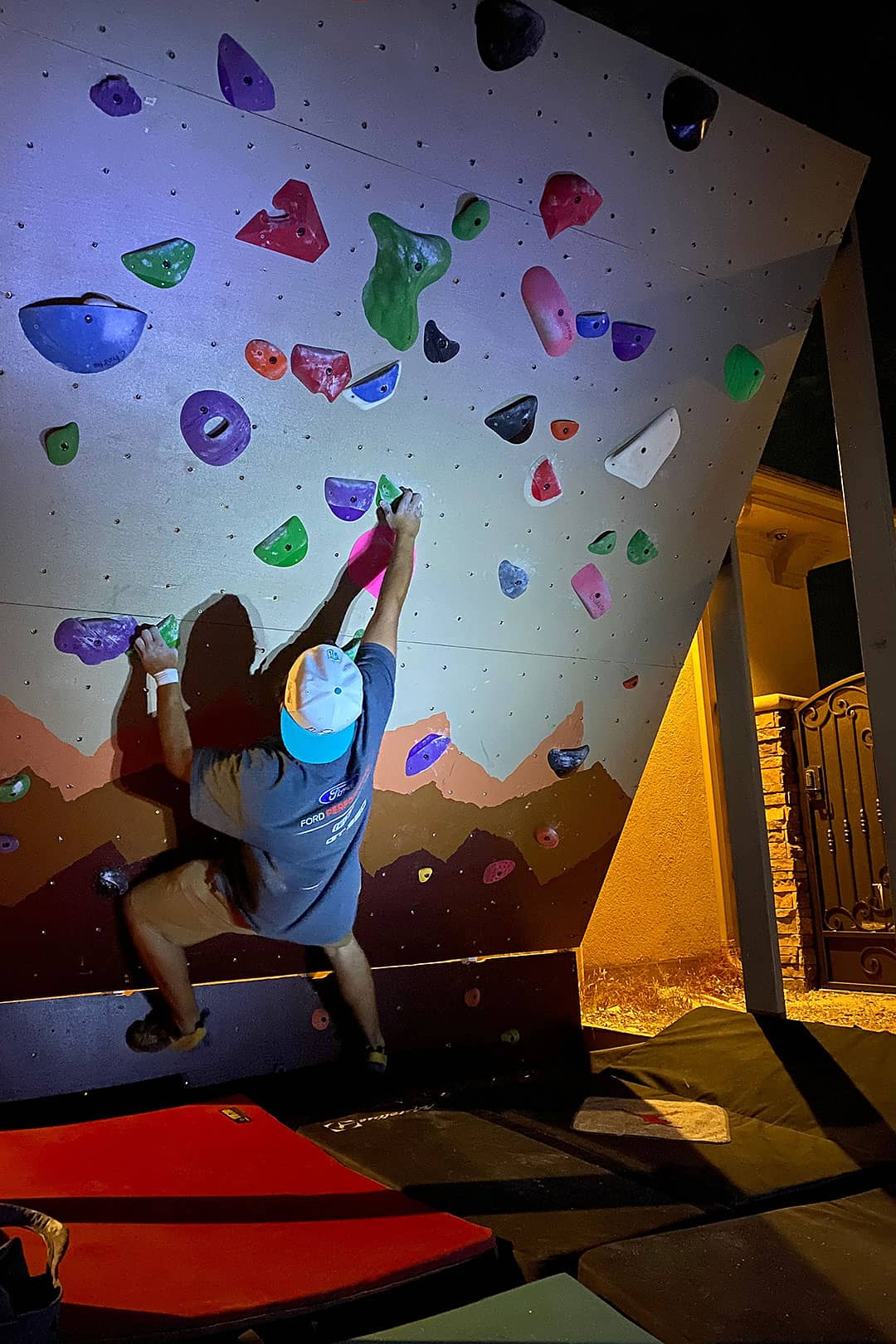 Home Bouldering Wall