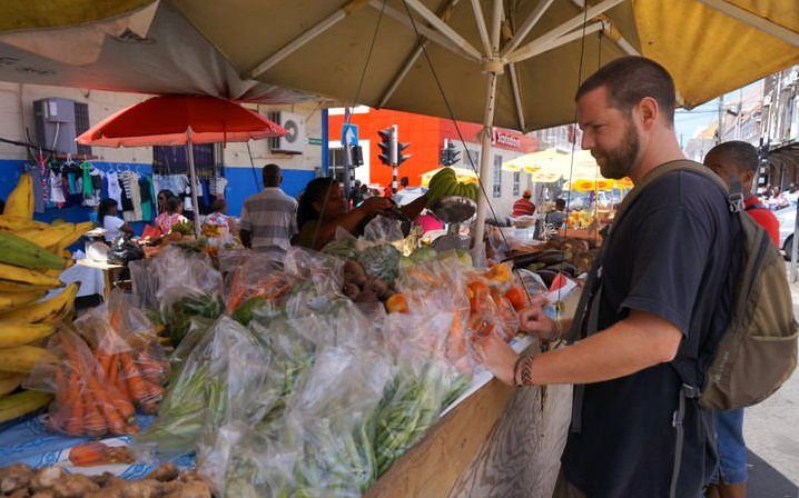 things to do in grenada visit the produce market in St. Georges