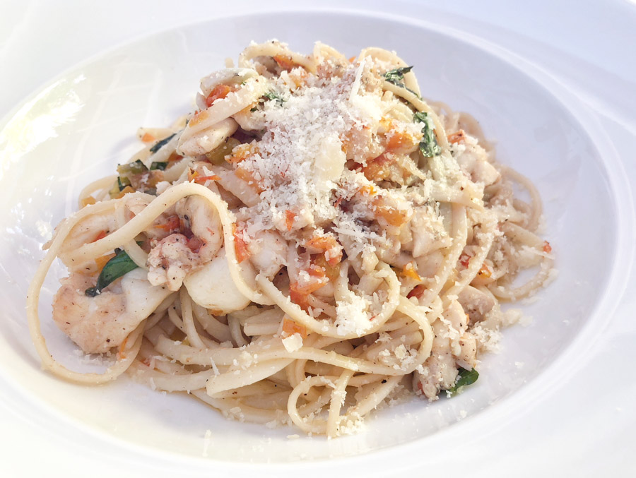 things to do in grenada have lunch at mount cinnamon restaurants serve lobster linguine