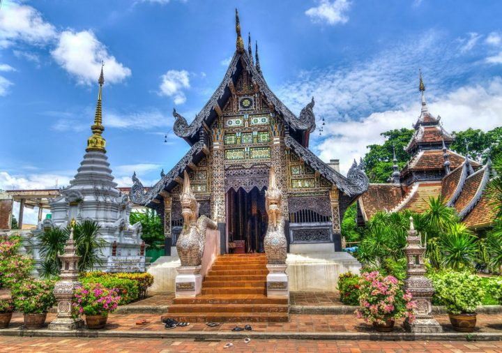 cost of living in thailand in chiang mai where you can see temples